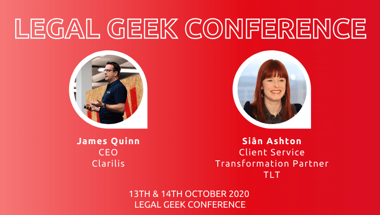Clarilis & TLT at Legal Geek 2020