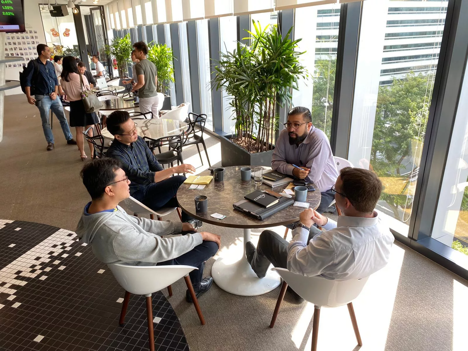 Clarilis' office in Singapore is open!