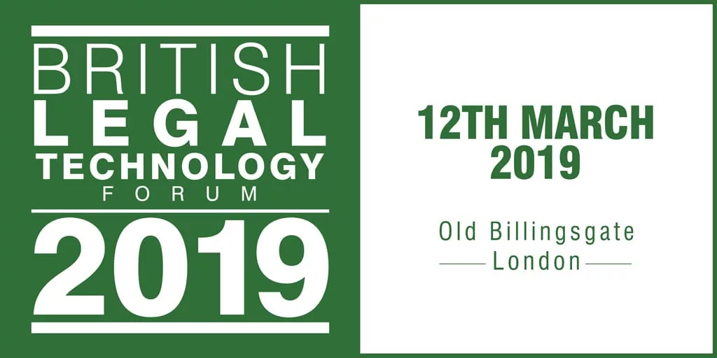 The British Legal Technology Forum 2019
