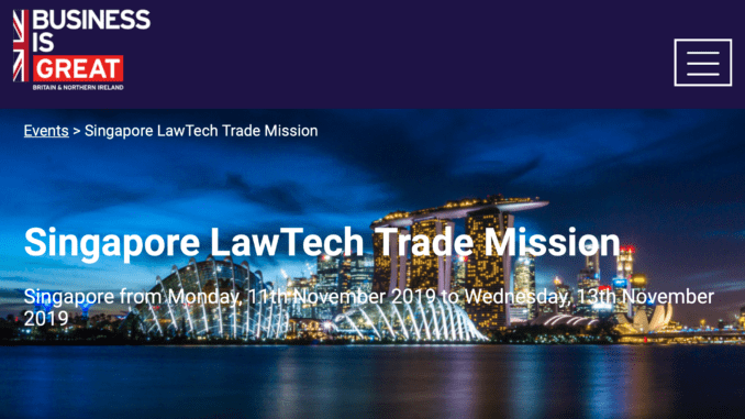 Clarilis heads to Singapore for the first Legal Tech Trade Mission